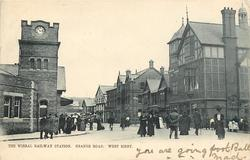 THE WIRRAL RAILWAY STATION, GRANGE ROAD