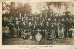 THE WILLESDEN JUNCTION TOWN PRIZE BAND, EST. 42 YEARS