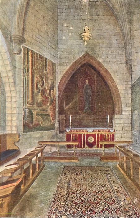 THE CHAPEL OF ST. FAITH