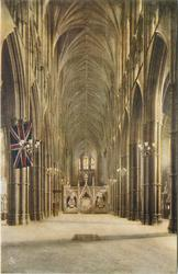 THE NAVE AND GRAVE OF THE UNKNOWN WARRIOR