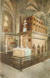 THE SHRINE OF EDWARD THE CONFESSOR