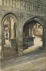 THE VESTIBULE TO HENRY VII'S CHAPEL