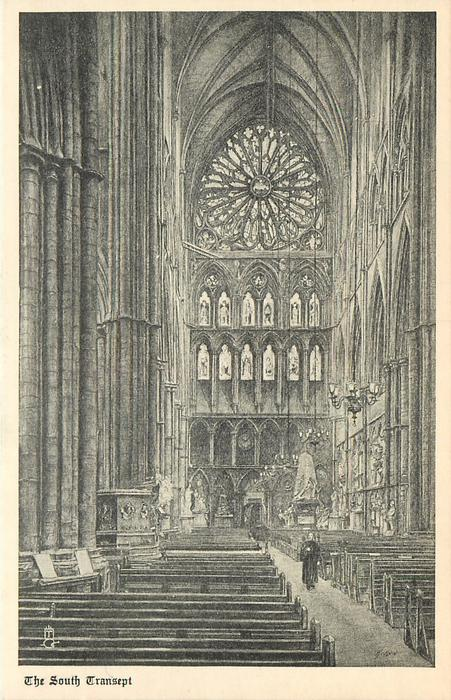THE SOUTH TRANSEPT