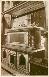 TOMB OF KING HENRY III.