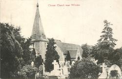 CLEWER CHURCH NEAR WINDSOR