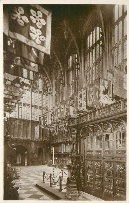 HENRY VII'S CHAPEL AND TOMB