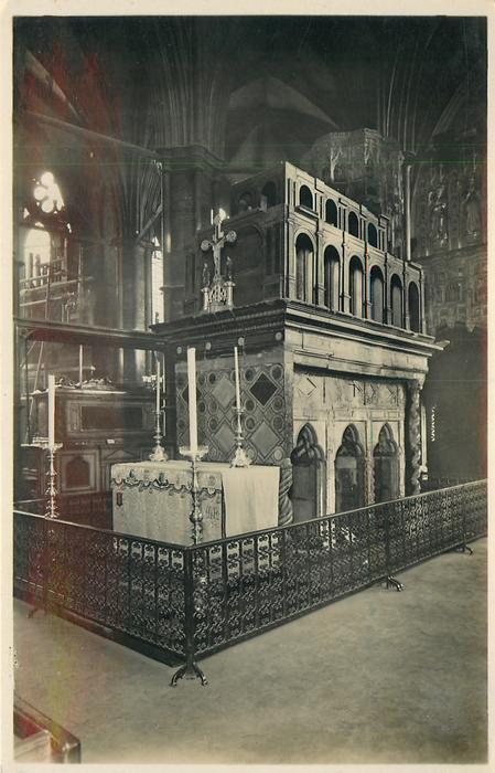 SHRINE OF ST. EDWARD, KING AND CONFESSOR