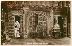 THE GATES, HENRY VII'S CHAPEL