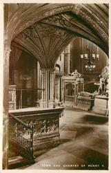TOMB AND CHANTRY OF HENRY V.