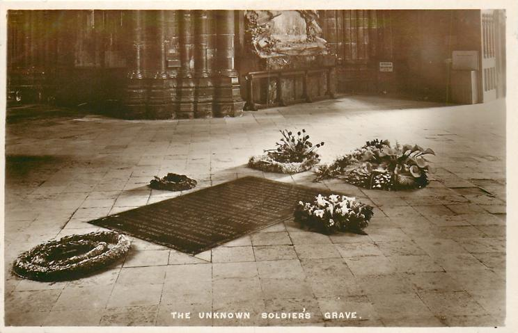 THE UNKOWN SOLDIER'S GRAVE