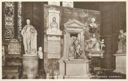 MONUMENTS TO SHAKESPEARE AND THOMAS CAMPBELL