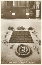 THE UNKNOWN SOLDIER'S GRAVE