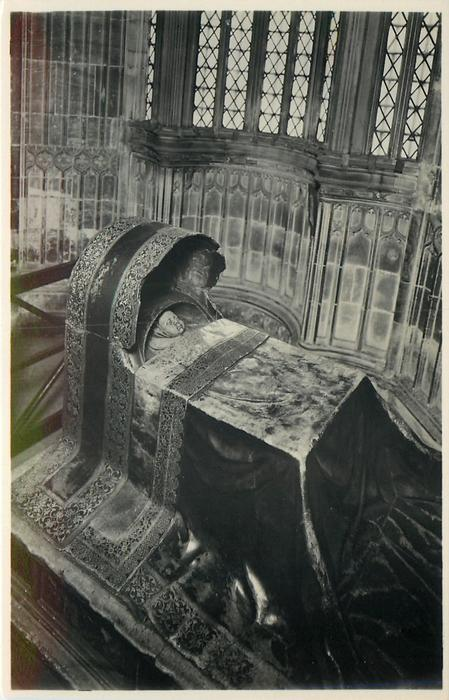 CRADLE TOMB OF INFANT CHILD OF JAMES I IN HENRY VII'S CHAPEL