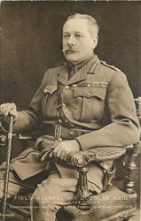 FIELD MARSHAL SIR DOUGLAS HAIGH/COMMANDER IN CHIEF OF THE BRITISH FORCES IN FRANCE 1915-1919