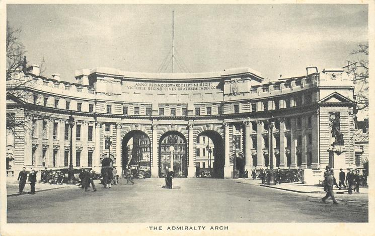 THE ADMIRALTY ARCH