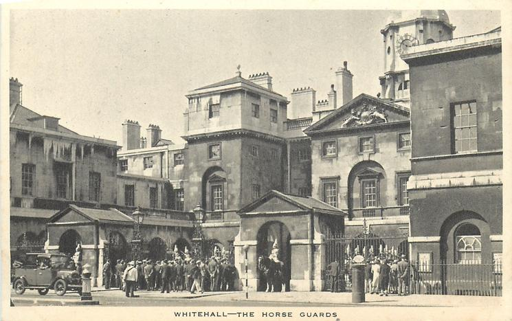 WHITEHALL - THE HORSE GUARDS