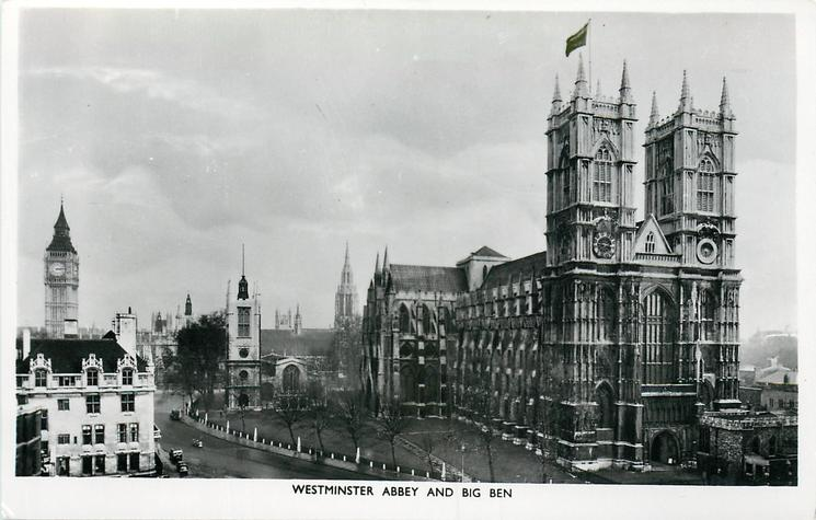 WESTMISTER ABBEY AND BIG BEN