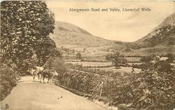 ABERGWESSIN ROAD AND VALLEY