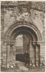 LUDLOW CASTLE, CHAPEL DOORWAY