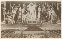 "FRESCO IN LYNDHURST CHURCH, ""THE TEN VIRGINS"""