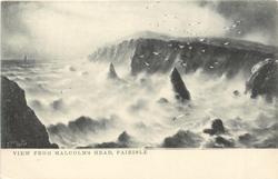 VIEW FROM MALCOLM'S HEAD, FAIR ISLE