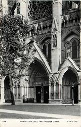 NORTH ENTRANCE WESTMINSTER ABBEY