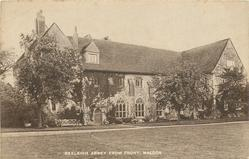 BEELEIGH ABBEY FROM FRONT