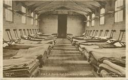 Y.M.C.A. CAMP HUT DORMITORY