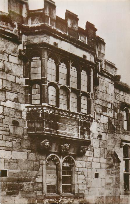 GEOFFREY'S WINDOW, MONMOUTH