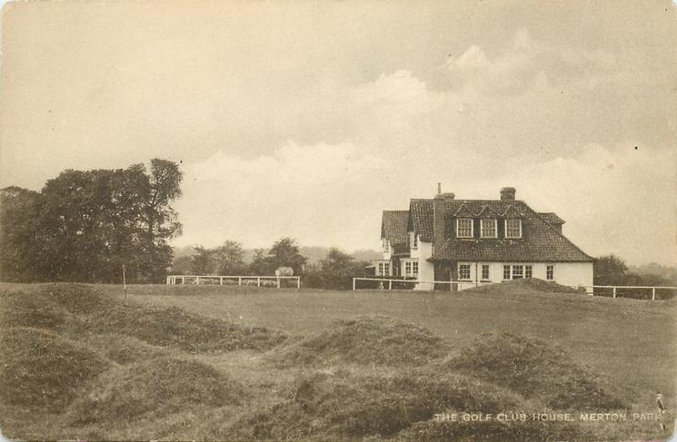 THE GOLF CLUB HOUSE, MERTON PARK