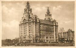 ROYAL LIVER BUILDINGS, LIVERPOOL