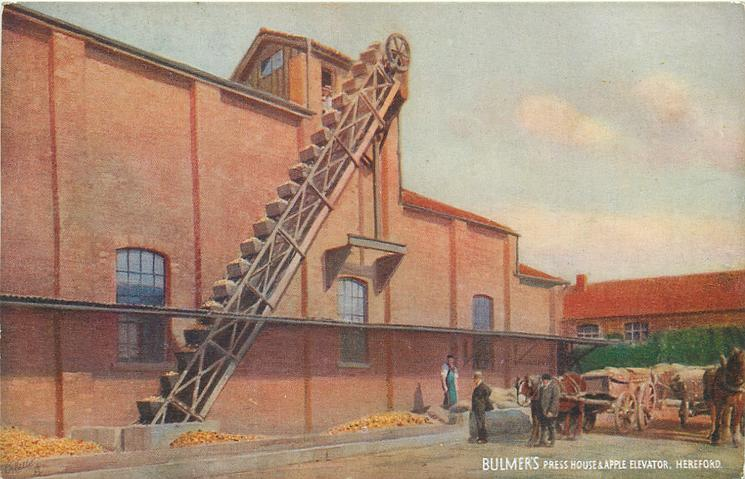 BULMER'S PRESS HOUSE & APPLE ELEVATOR, HEREFORD
