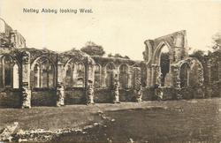 NETLEY ABBEY LOOKING WEST