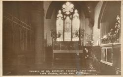 LADY CHAPEL, ALTAR AND WINDOW