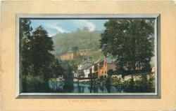 A VIEW IN MATLOCK BATH