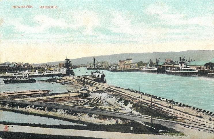 HARBOUR  no prominent ships