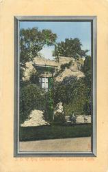 I.O.W. KING CHARLES WINDOW, CARISBROOKE CASTLE
