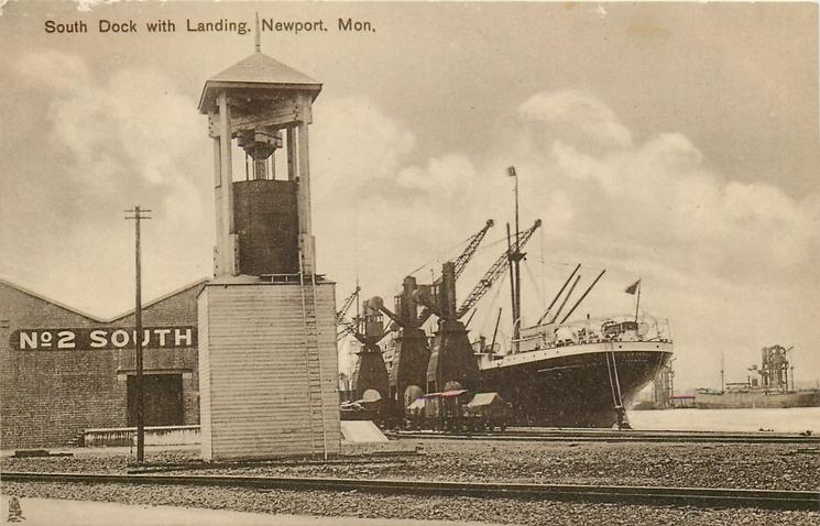 SOUTH DOCK WITH LANDING