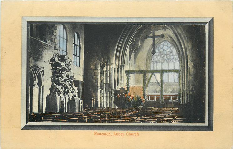 ABBEY CHURCH  interior