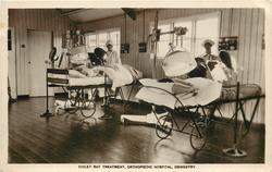 VIOLET RAY TREATMENT, ORTHOPOEDIC HOSPITAL