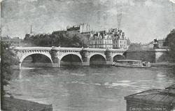 PARIS PONT HENRI IV