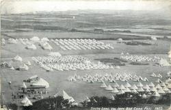 SOUTH LANC. VOL. INFY. BDE. CAMP, PEEL 1903