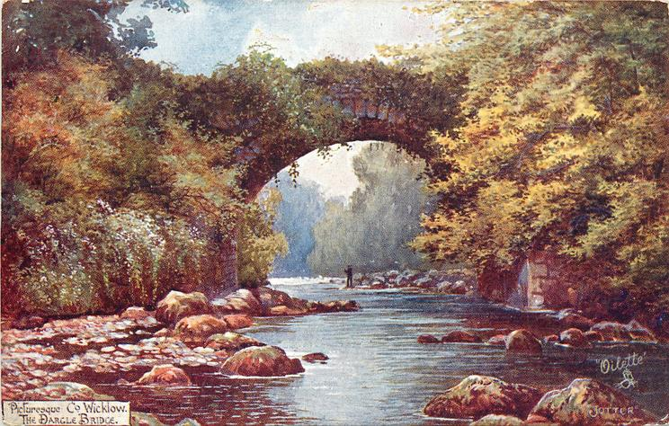 THE DARGLE BRIDGE