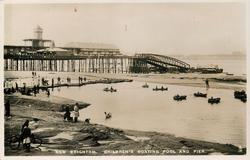 CHILDREN'S BOATING POOL AND PIER