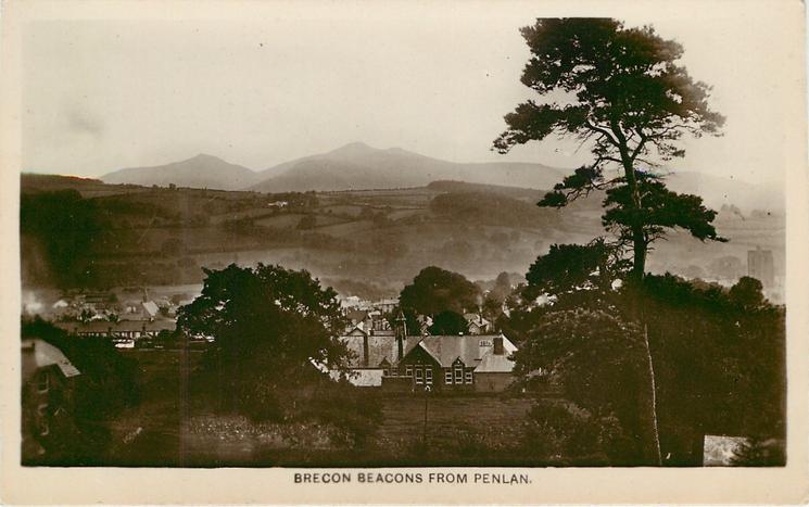 BRECON BEACONS FROM PENLAN