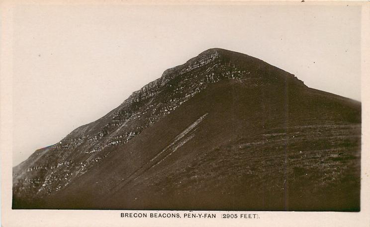 BRECON BEACONS, PEN-Y-FAN (2905 FEET)