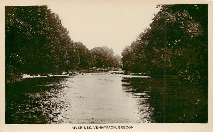 RIVER USK, VENNYFACH