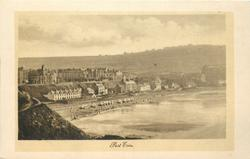 PORT ERIN  much sea lower right
