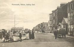 PROMENADE, REDCAR, LOOKING EAST