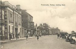 PROMENADE, REDCAR, LOOKING WEST